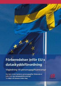 GDPR - ny dataskyddsförordning, bild på vägledning