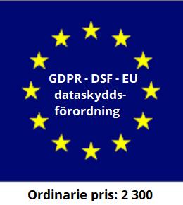 GDPR/DSF – EU:s dataskyddsförordning