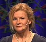 Konferens aktivt ledarskap till medarbetarskap - Annie Seel ansiktsbild