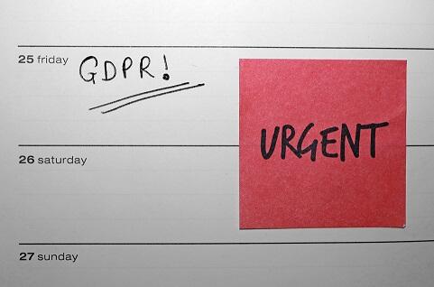 GDPR- arbetet klart den 25 maj