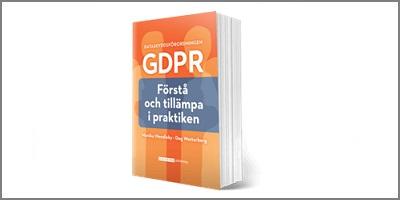 Boken GDPR förstå och tillämpa i praktiken, produktbild