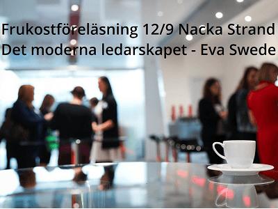 Det moderna ledarskapet, frukostföreläsning 12 sept, Eva Swede, web bild