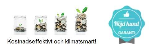 Kompetensutveckling online bild med nöjd kundgaranti och klimatsmart symbol