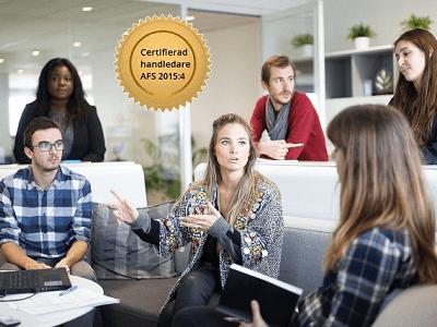 Certifierad arbetsmiljöutbildning i osa för handledare, produktbild