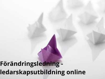 Förändringsledning - ledarskapsutbildning online - ledarskapsutbildning online- Vealearn