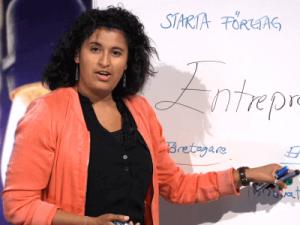 Entreprenörskap och ledarskap - diplomerad utbildning, bild på Maria berghäll