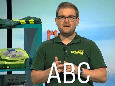 ABC sjukvård- första hjälpen och HLR - diplomerad onlineutbildning, produktbild