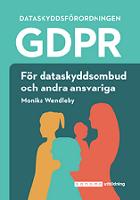 GDPR för dataskyddsombud och andra ansvariga, produktbild WEB