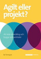 Agilt eller projekt - bok, produktbild webb
