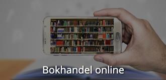 Kompetensutveckling online bokhandel online navigationsbild med text