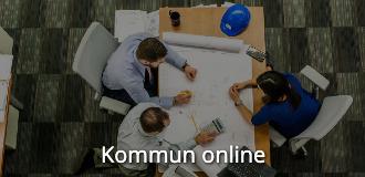 Kompetensutveckling online kommun online navigationsbild med text
