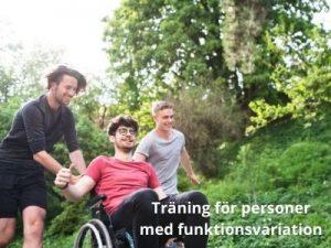 Träning för personer med funktionsvariation - diplomerad onlineutbildning